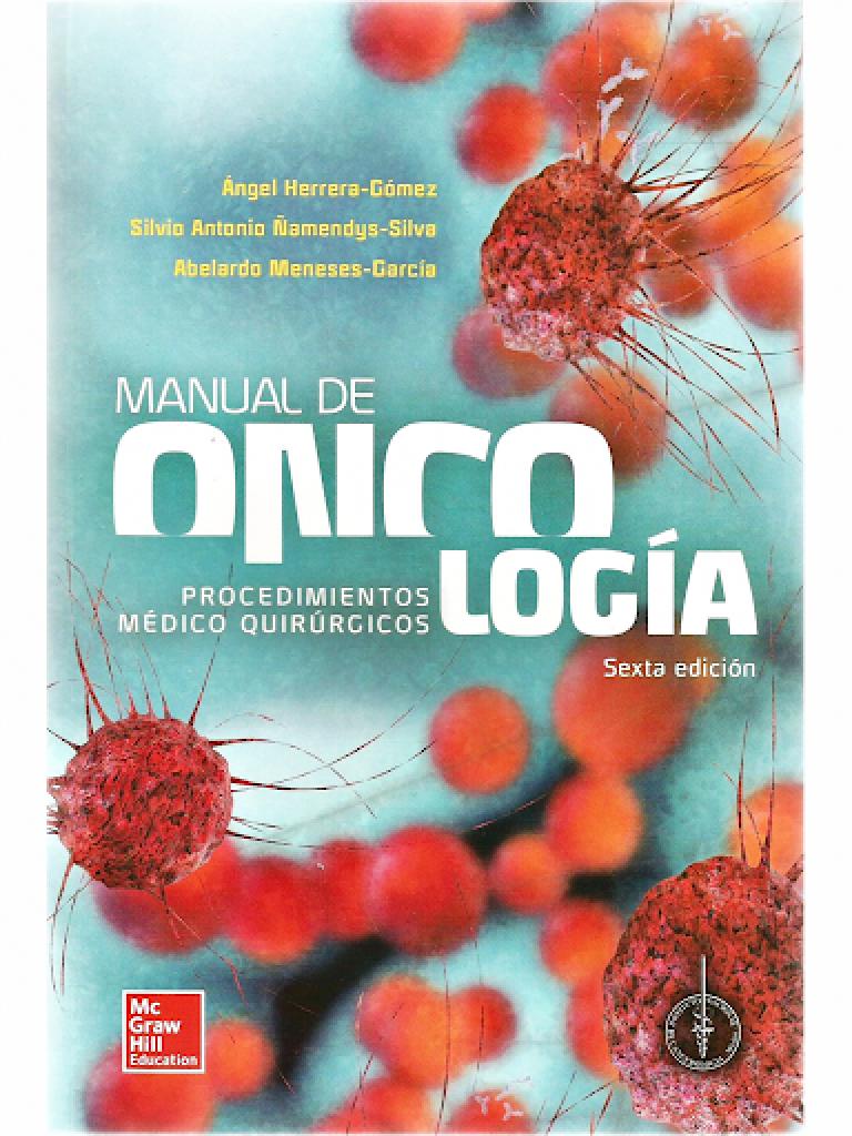 manual de oncologia incan 6ta edicion pdf