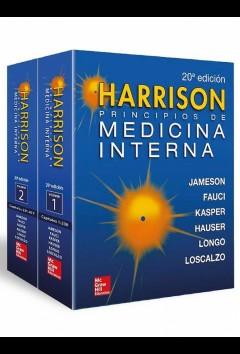 HARRISON Principios de Medicina Interna, 2 Vols.